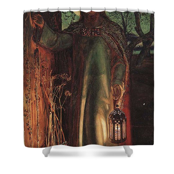 The Light of the World Shower Curtain by William Holman Hunt