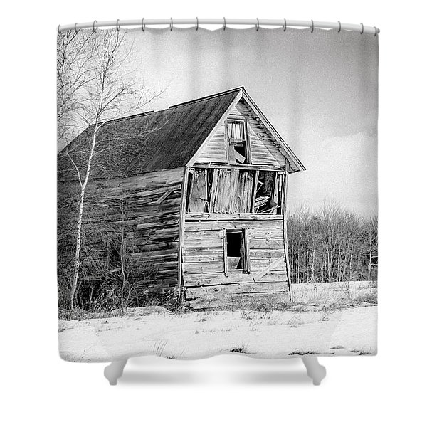 The Old Shack Shower Curtain by Gary Heller