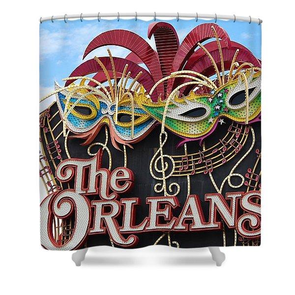 The Orleans Hotel Shower Curtain by Cynthia Guinn