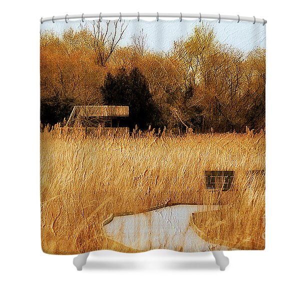 The Overlook Shower Curtain by Lois Bryan