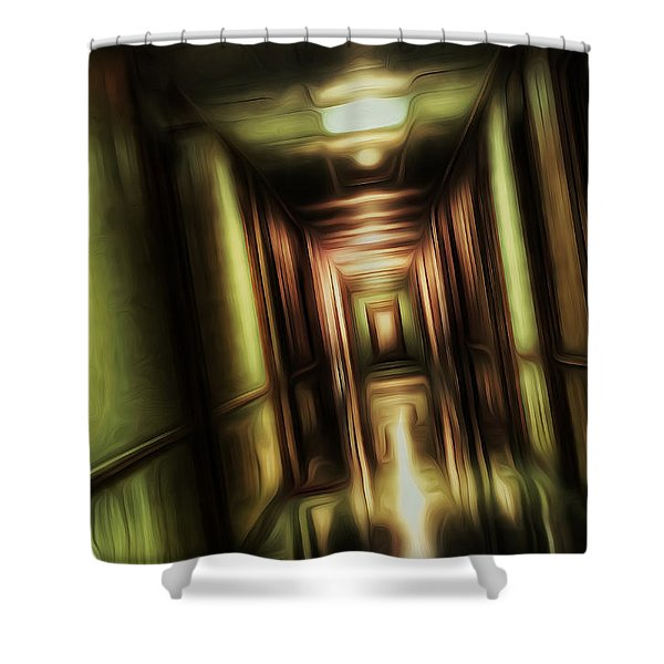 The Passage Shower Curtain by Scott Norris