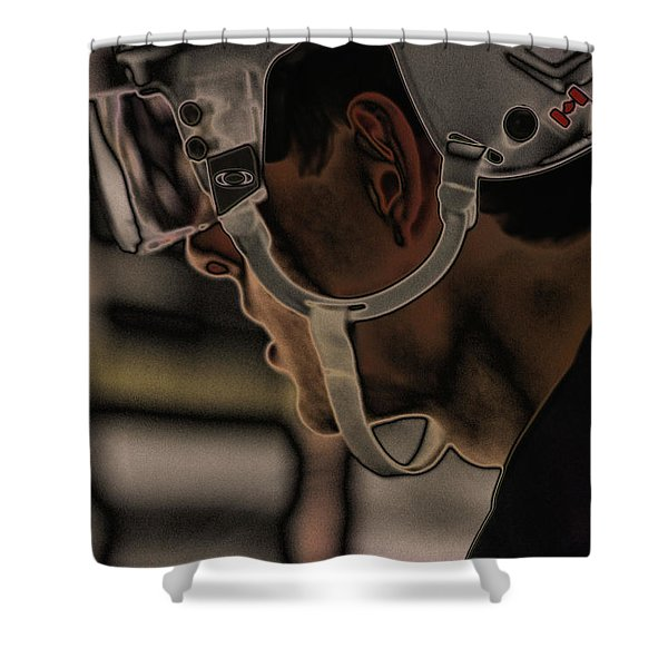 The Player Shower Curtain by Karol  Livote