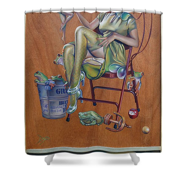 The Princess and the Frogs Shower Curtain by Patrick Anthony Pierson