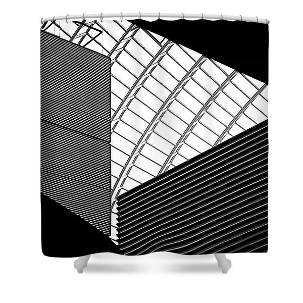 The Road Ahead Shower Curtain by Rona Black