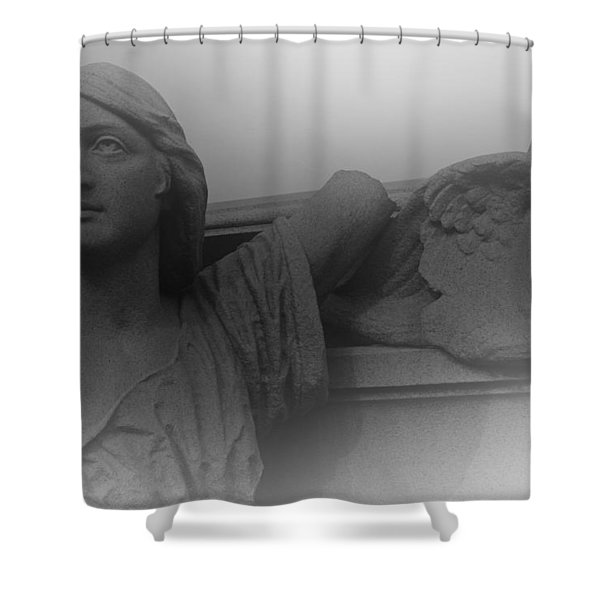 The Soul Shower Curtain by David Rucker