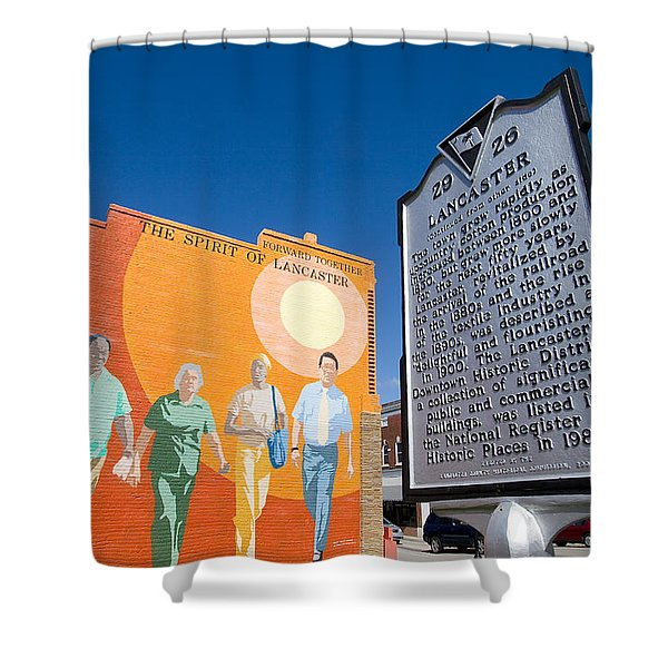 The Spirit Of Lancaster Shower Curtain by Joseph C Hinson Photography