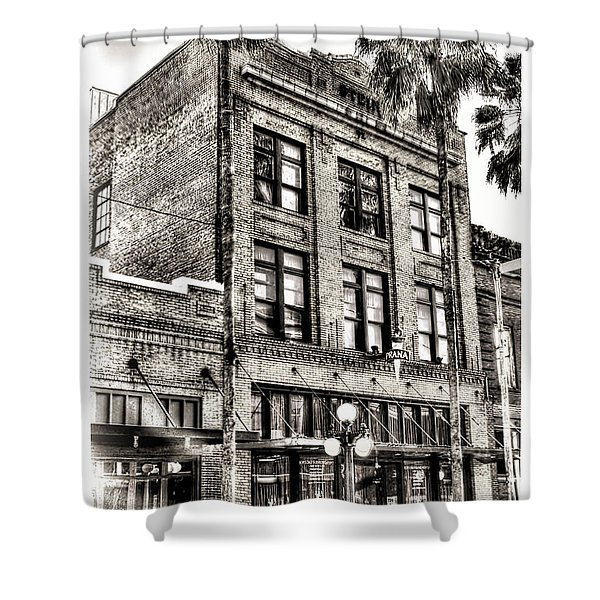 The Stein Building Shower Curtain by Marvin Spates