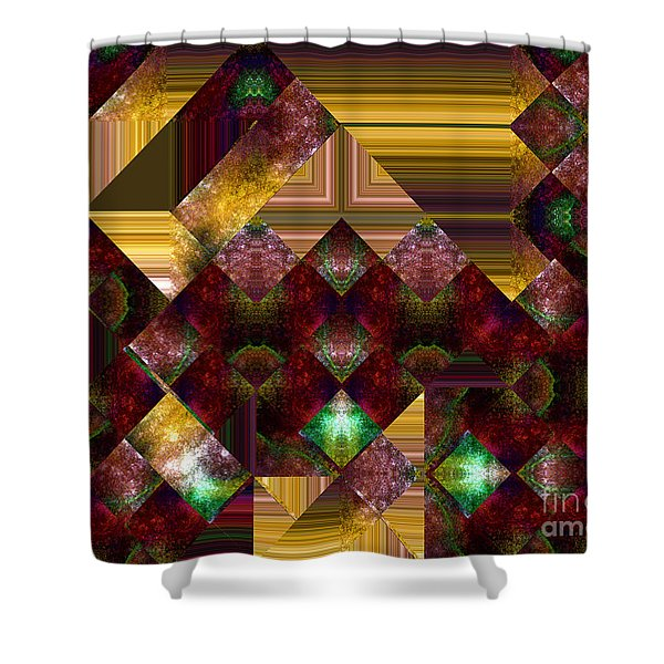 The Sublimation Of Desire Shower Curtain by RC DeWinter