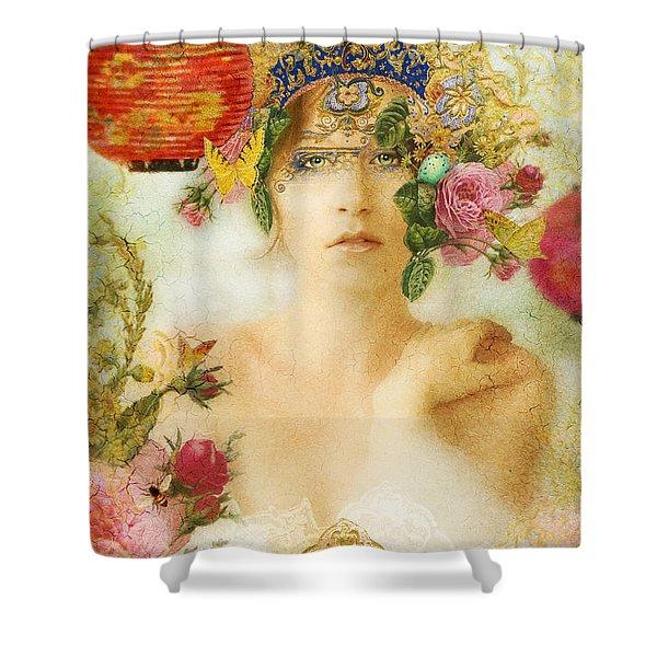 The Summer Queen Shower Curtain by Aimee Stewart