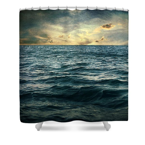 The Time I Was Daydreaming Shower Curtain by Taylan Soyturk