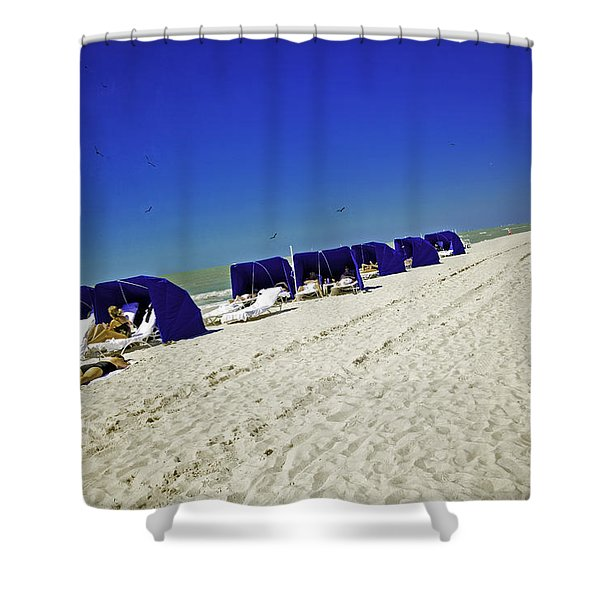 The Vacationers 2 Shower Curtain by Madeline Ellis
