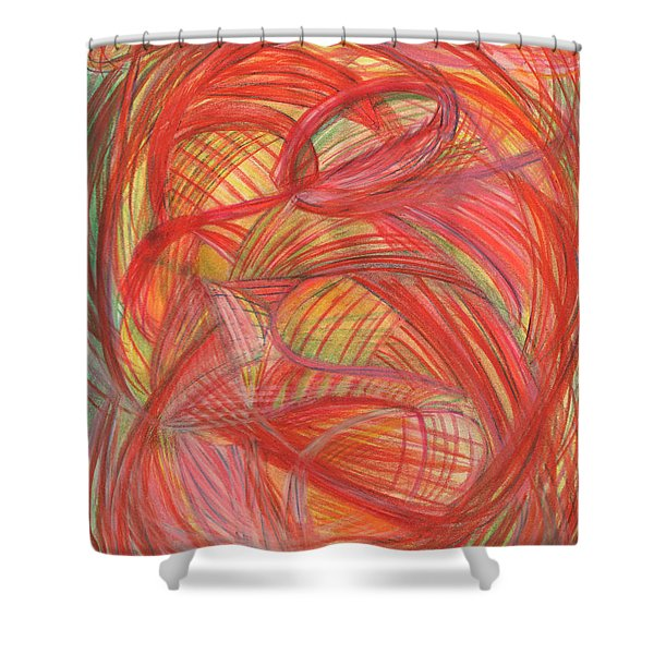 The Voice Of Daring-vertical Shower Curtain by Kelly K H B