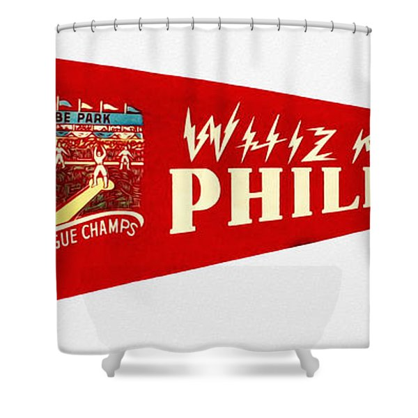 The Whiz Kids Shower Curtain by Bill Cannon