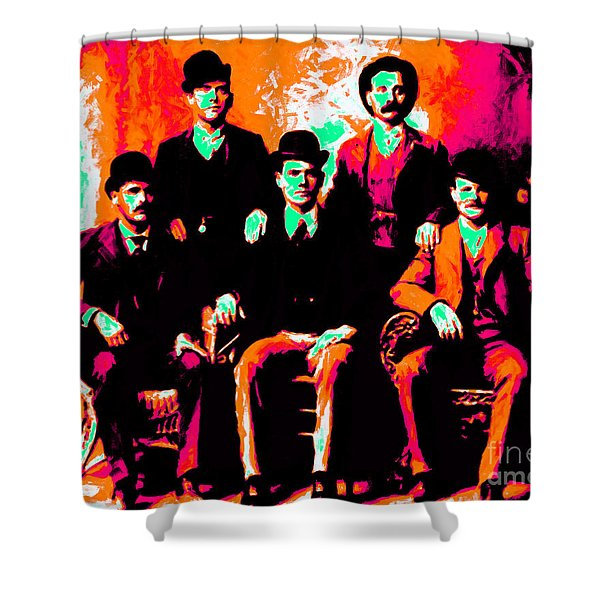 The Wild Bunch 20130212p38 Shower Curtain by Wingsdomain Art and Photography