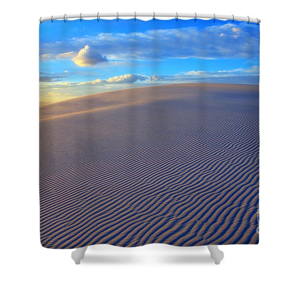 The Wonder Of New Mexico Shower Curtain by Bob Christopher