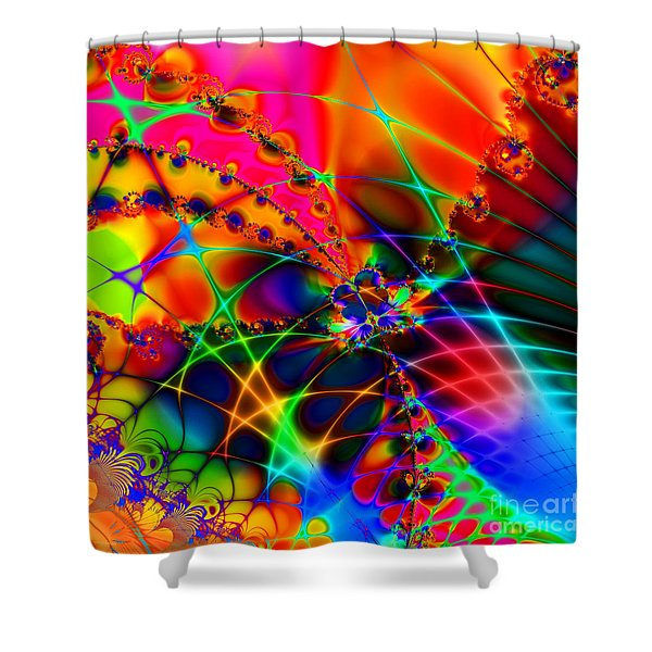 There Are Places I Remember 20130510 Square V1 Shower Curtain by Wingsdomain Art and Photography