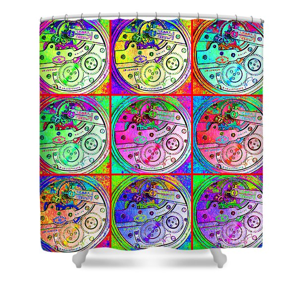 There Is Never Enough Time 20130606 Shower Curtain by Wingsdomain Art and Photography