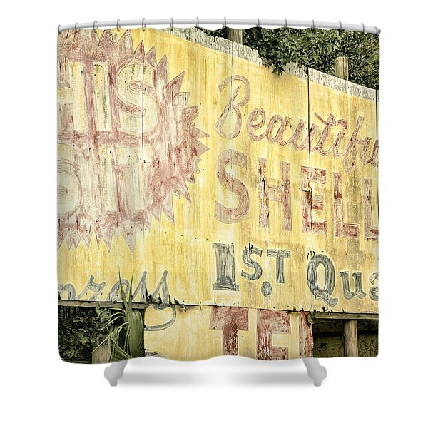 This Is IT Shower Curtain by Joan Carroll