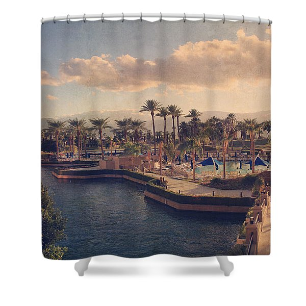 This Way Shower Curtain by Laurie Search