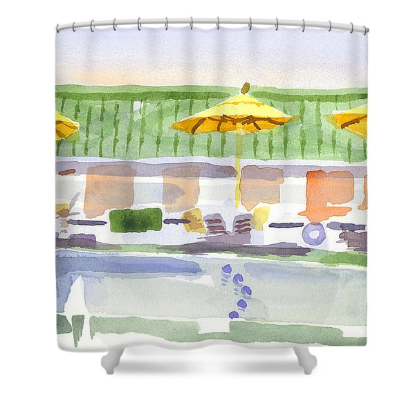 Three Amigos II Shower Curtain by Kip DeVore