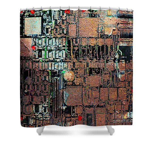 Time For A Motherboard Upgrade 20130716 square Shower Curtain by Wingsdomain Art and Photography