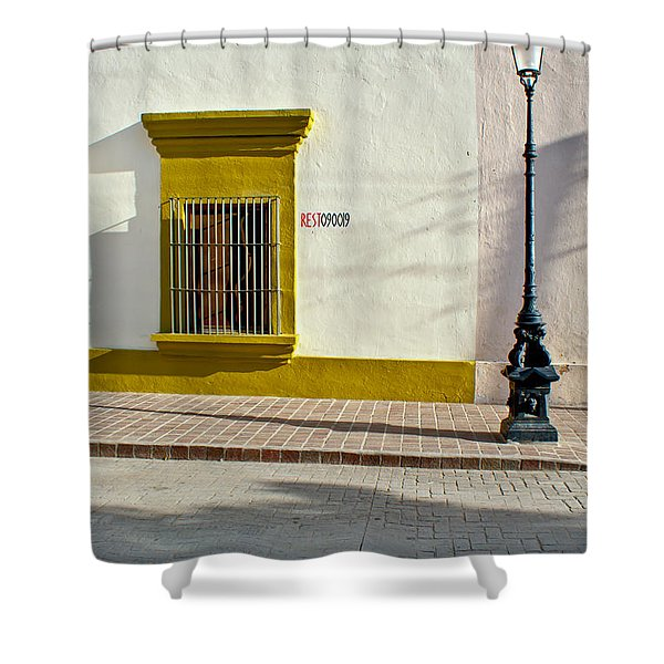 Todos Alley Shower Curtain by Ryan Burton