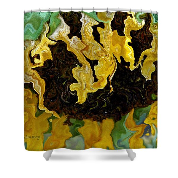 Tournesol Shower Curtain by Chris Berry