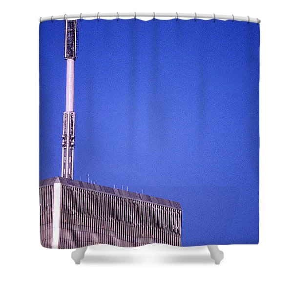 Tower One Shower Curtain by Jon Neidert