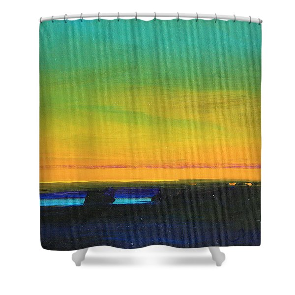 Tranquility Shower Curtain by Mike Savlen