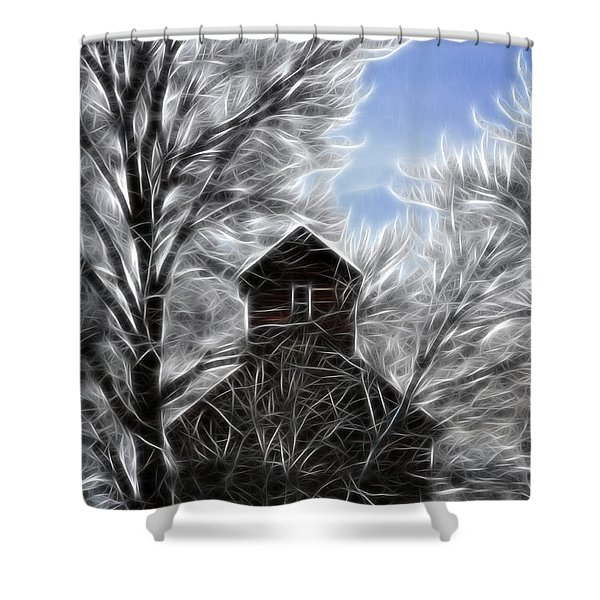 Tree House Shower Curtain by Steve McKinzie