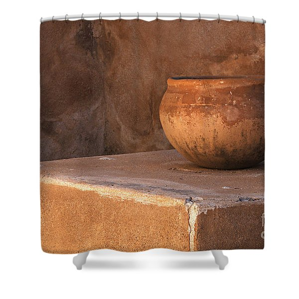 Tumacacori Arizona 2 Shower Curtain by Bob Christopher