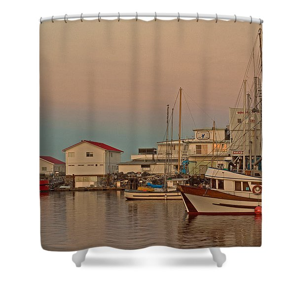 Twilight Shower Curtain by Randy Hall