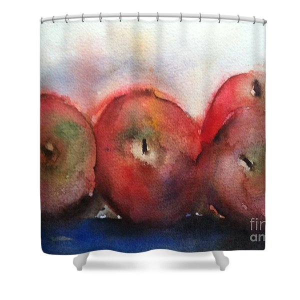 Two Pairs Shower Curtain by Sherry Harradence