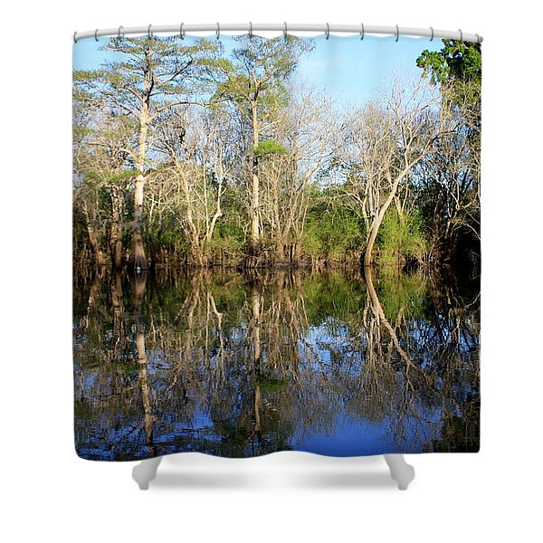 Ultimate Reflection Shower Curtain by Debra Forand