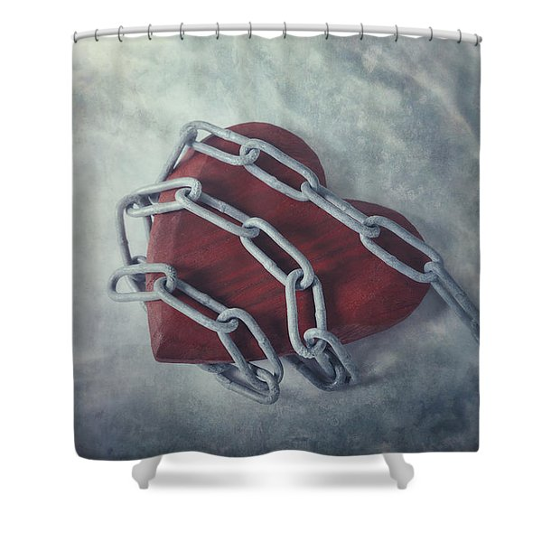 unchain my heart Shower Curtain by Joana Kruse