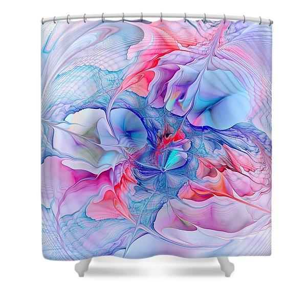 Unicorn Dream Shower Curtain by Anastasiya Malakhova
