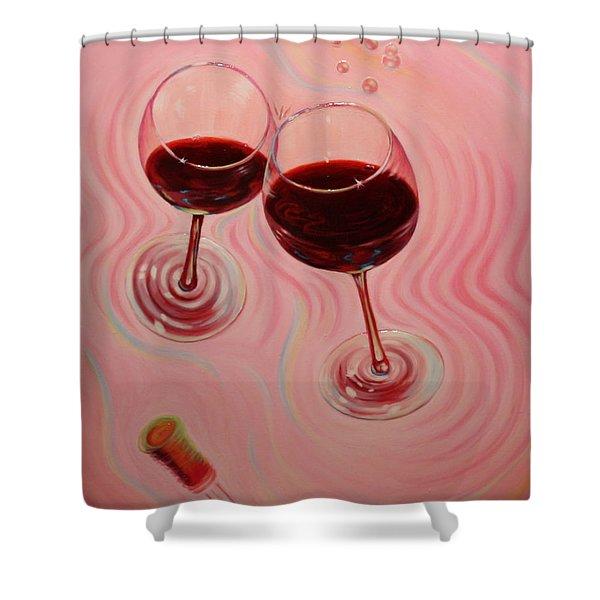 Uplifting Spirits II Shower Curtain by Sandi Whetzel