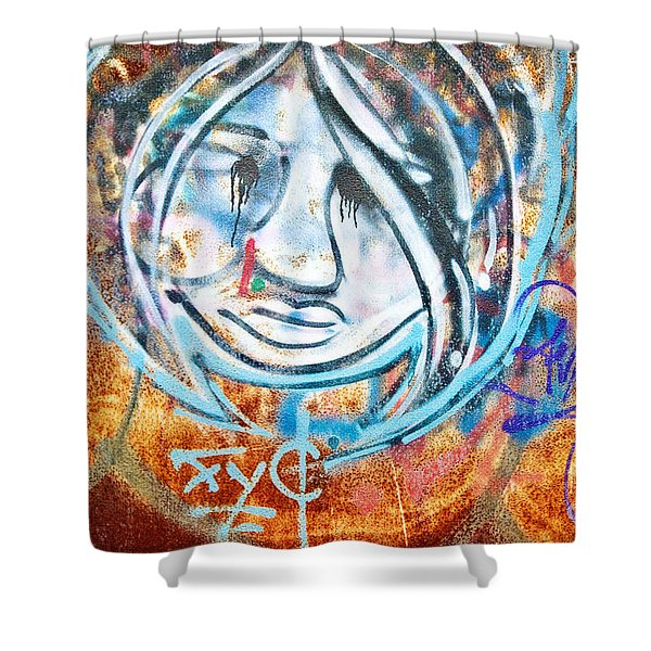 Urban Art Shower Curtain by Scott Pellegrin