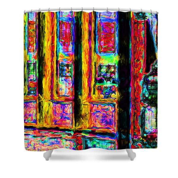 Urban Sprawl - 7D14097 Shower Curtain by Wingsdomain Art and Photography