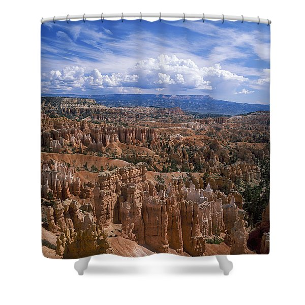 Usa, Utah, Bryce Canyon National Park Shower Curtain by Tips Images
