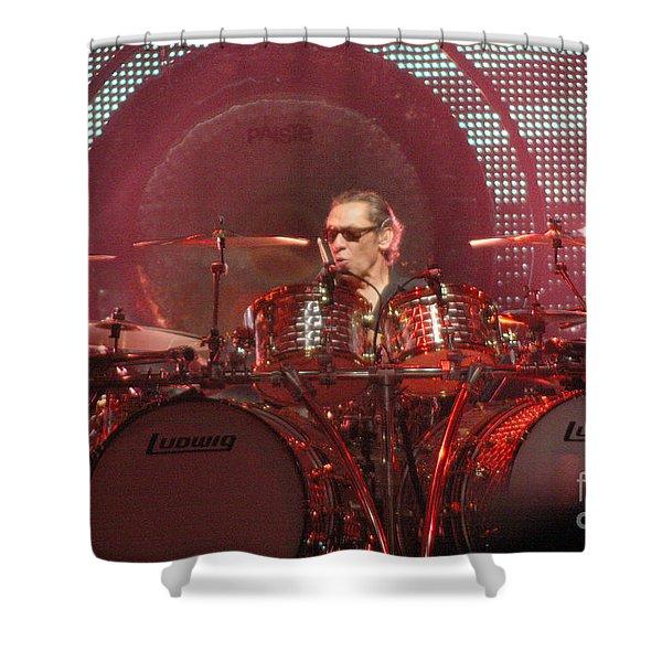 Van Halen-7273 Shower Curtain by Gary Gingrich Galleries