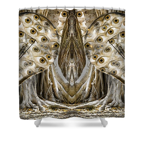 Vast Knowledge II Shower Curtain by Betsy C  Knapp