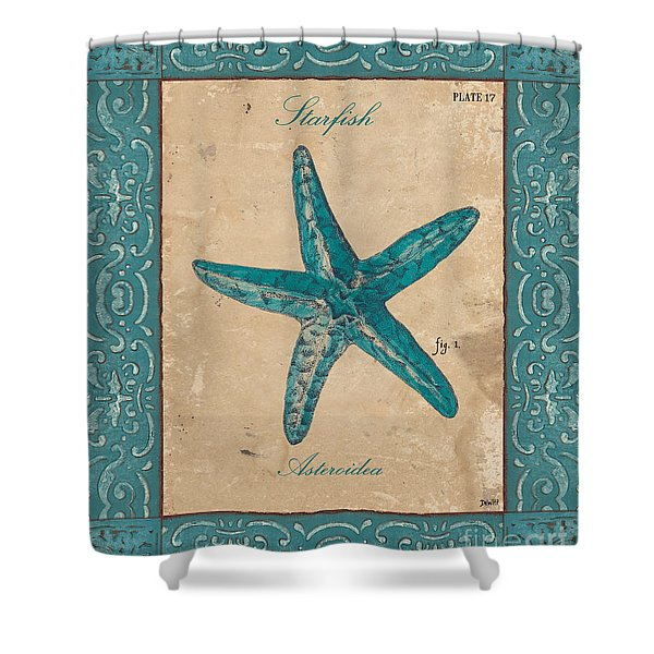 Verde Mare 1 Shower Curtain by Debbie DeWitt