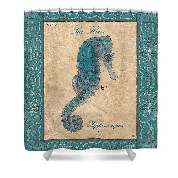 Verde Mare 3 Shower Curtain by Debbie DeWitt