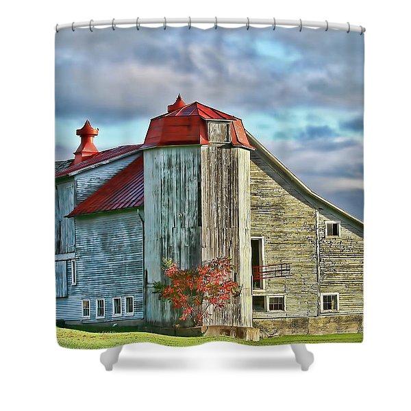 Vermont Rustic Beauty Shower Curtain by Deborah Benoit