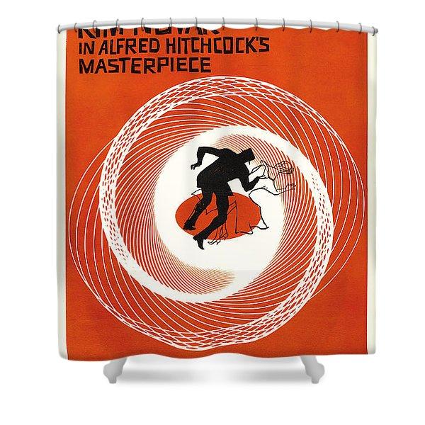 Vertigo Shower Curtain by Nomad Art And  Design