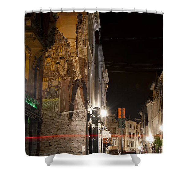 Victor Sackville Shower Curtain by Juli Scalzi