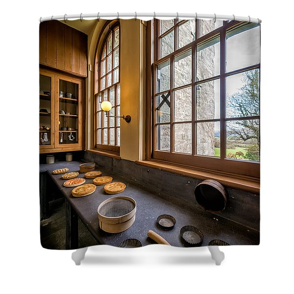 Victorian Baking Shower Curtain by Adrian Evans