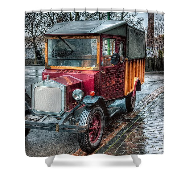 Victorian Car Replica Shower Curtain by Adrian Evans