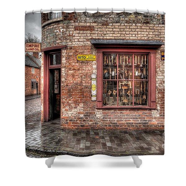 Victorian Corner Shop Shower Curtain by Adrian Evans